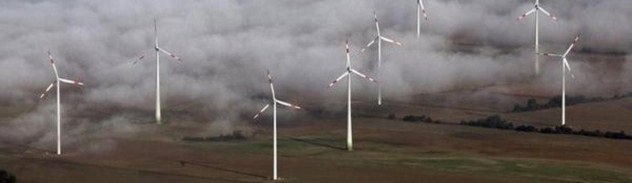 Windfarm Saksassa
