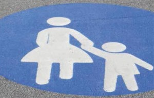 moeder-kind-teken