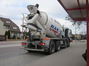 Cement_mixer_trucks_Rak-Bud_in_Białystok_1