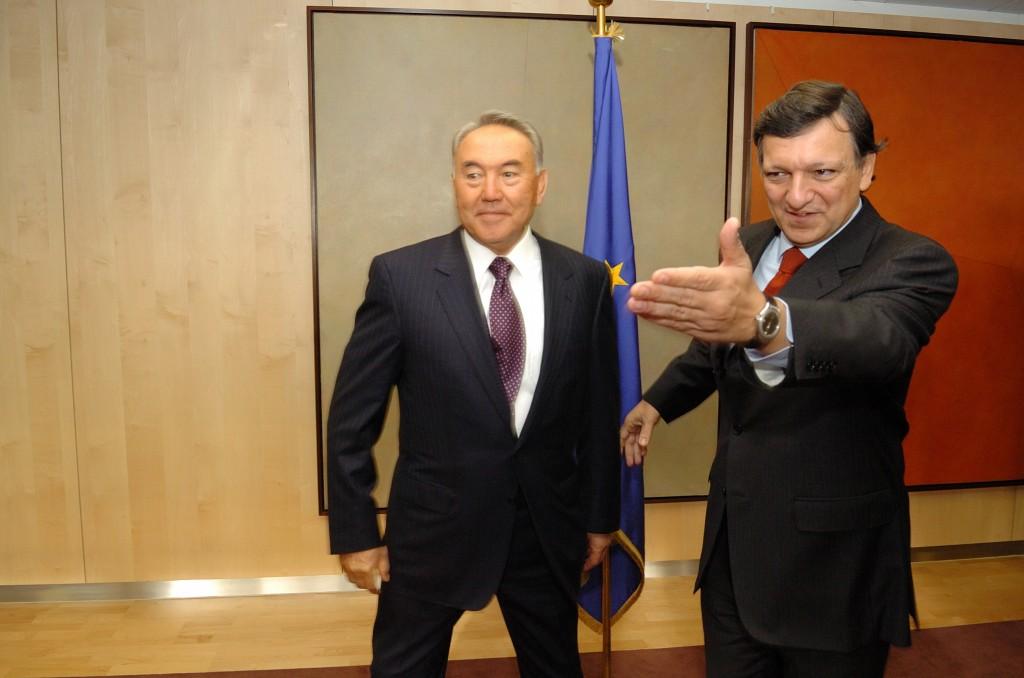 Nursultan Nazarbaev ved EF