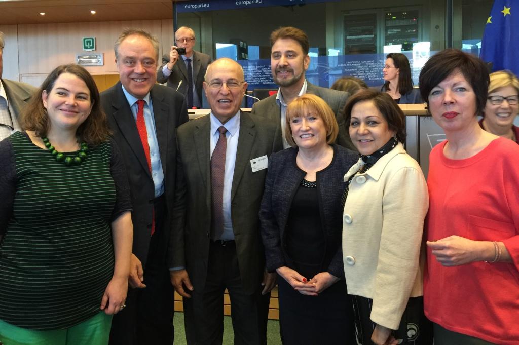 Els diputats laboristes es reuneixen amb Nabil-Shaath