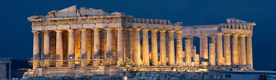 Parthenon-on-Akropolis-in-Athen-Griechenland