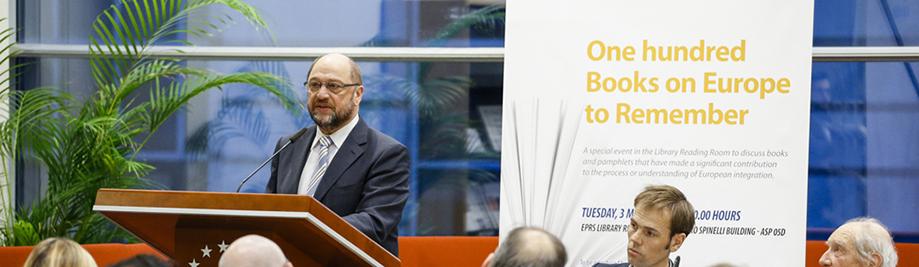 Марцін Шульц, старшыня Еўрапарламента, Luuk ван MIDDELAAR, Філіп дэ SCHOUTHEETE