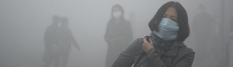 Smog Harbin, Kiina