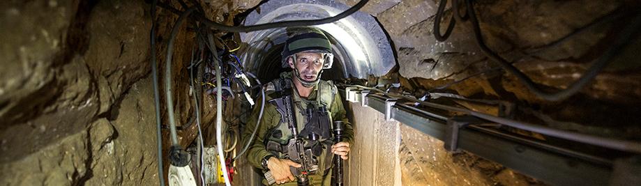Ізраіль-Палестына-Канфлікт-Газа-Тунэль
