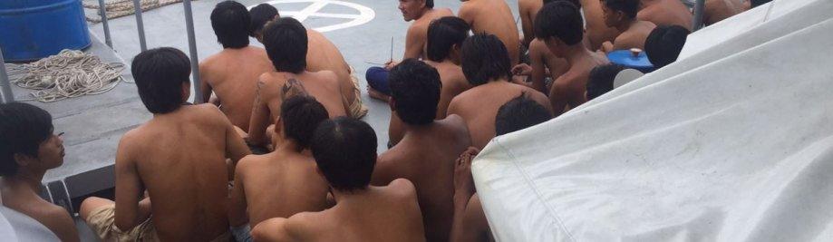 Тайланд-нелегальны лоўлю рыбы-дадзеных