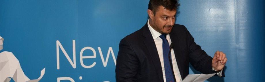 van Nikolay Barekov parlementslid gedurende die verslag Bekendstelling: Rusland se invloed in Bulgarye