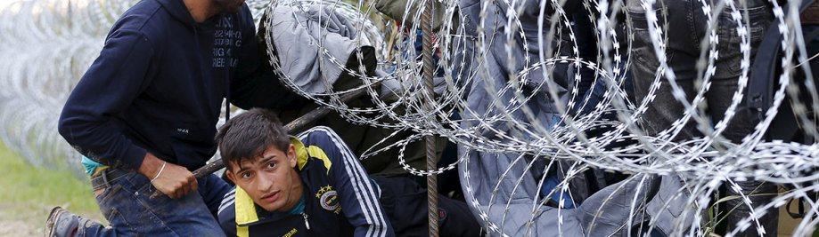 immigrante-Hongarye-EU-heining