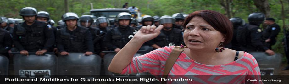 پارلمان Mobilises برای گواتمالا-حقوق بشر-مدافعان-4