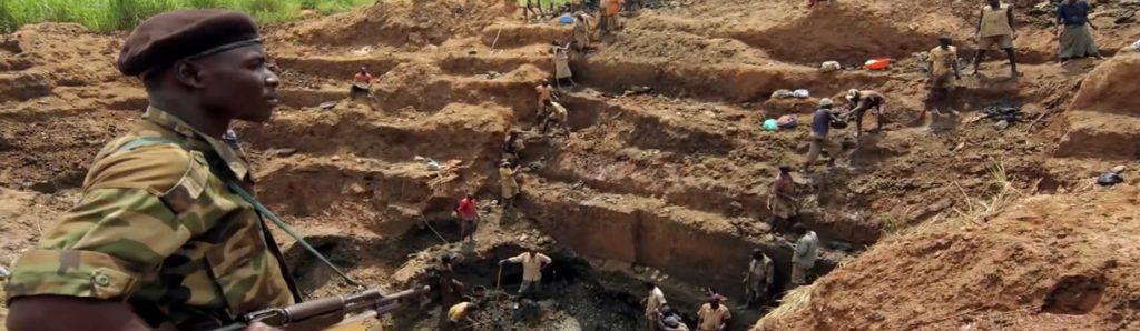 تعارض مواد معدنی-شورشیان و کودک سربازان در Congo-