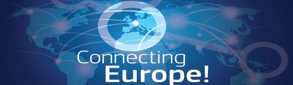_Connecting یورپ علامت