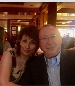 Facebook: Vladimir Gusinsky and his wife Ellina