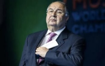 Alisher Usmanov, photo by TASS