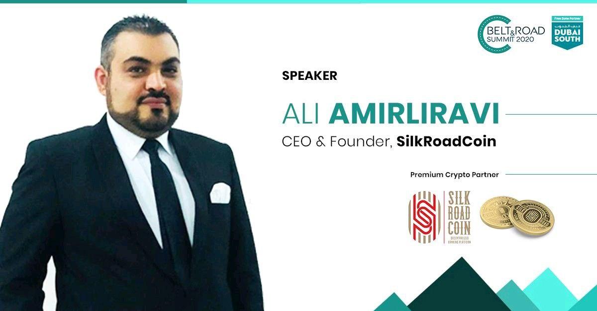 Ali Amirliravi, Chief Executive of LGR Crypto bank of Switzerland