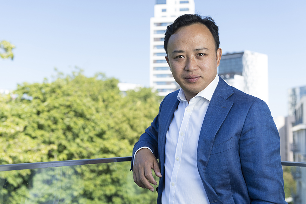 Abraham Liukang, the Huawei chief representative to the EU institutions.