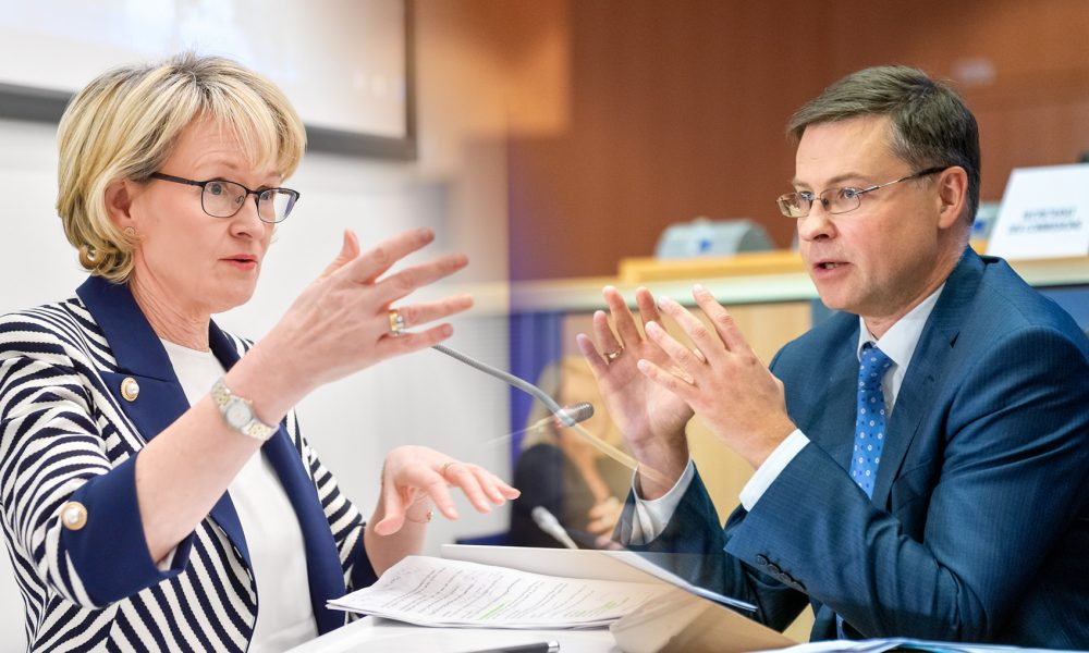 Commission changes: MEPs to assess McGuinness and Dombrovskis